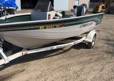 Used 200 Crestliner 1650 CS for sale in Park Rapids, MN